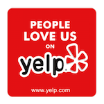 yelp people love us